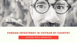 SETTING UP BUSINESS IN VIETNAM - FOREIGN INVESTMENT IN VIETNAM BY COUNTRY