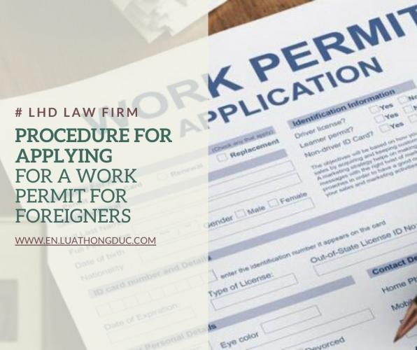 Procedure for applying for a work permit for foreigners
